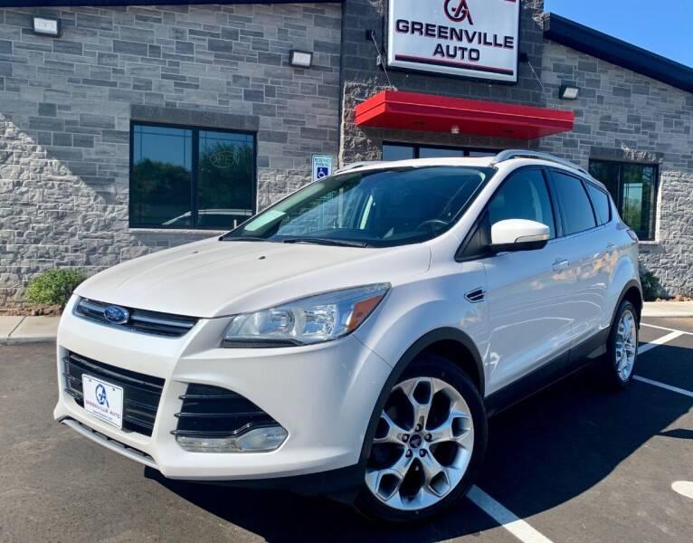 2014 Ford Escape for sale at GREENVILLE AUTO & RV in Greenville WI