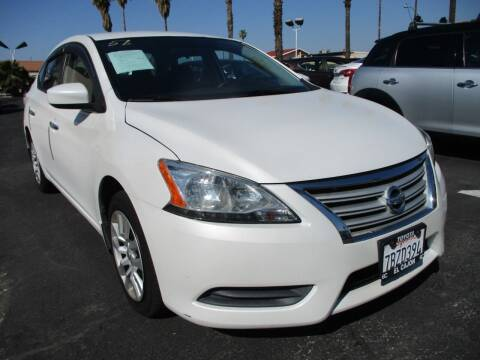 2014 Nissan Sentra for sale at F & A Car Sales Inc in Ontario CA