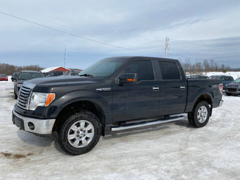 2012 Ford F-150 for sale at Riverside Motors in Glenfield NY