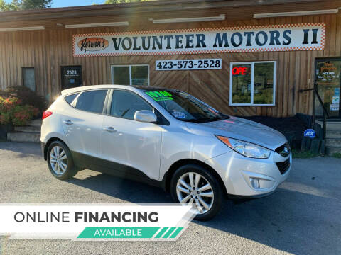 2013 Hyundai Tucson for sale at Kerwin's Volunteer Motors in Bristol TN