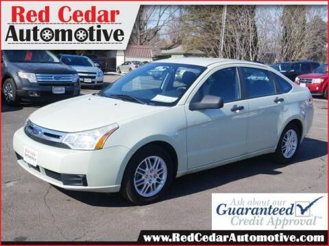 2010 Ford Focus for sale at Red Cedar Automotive in Menomonie WI