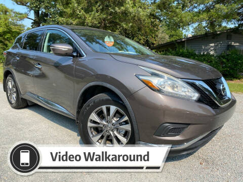 2015 Nissan Murano for sale at Byron Thomas Auto Sales, Inc. in Scotland Neck NC