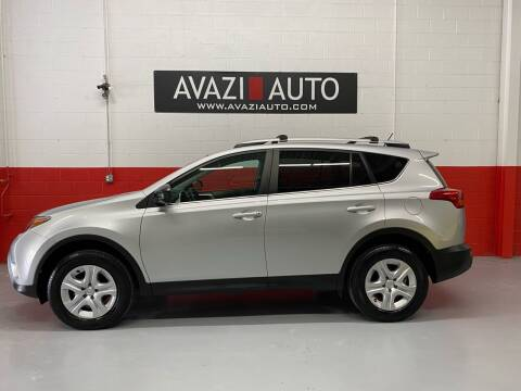 2013 Toyota RAV4 for sale at AVAZI AUTO GROUP LLC in Gaithersburg MD