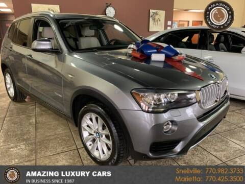 2016 BMW X3 for sale at Amazing Luxury Cars in Snellville GA