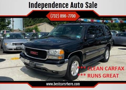 2005 GMC Yukon for sale at Independence Auto Sale in Bordentown NJ