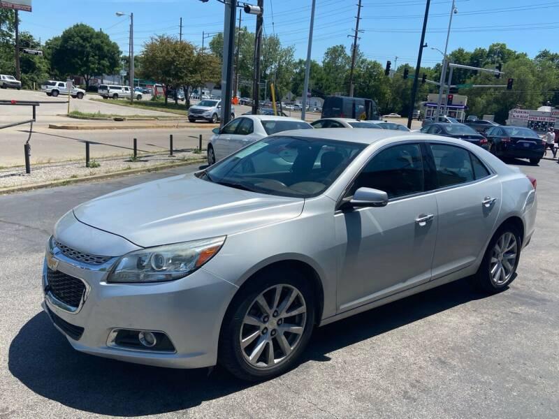 2015 Chevrolet Malibu for sale at Smart Buy Car Sales in Saint Louis MO