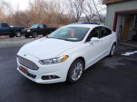 2016 Ford Fusion for sale at Careys Auto Sales in Rutland VT