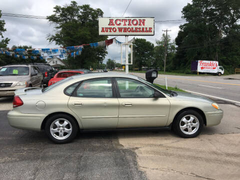 2006 Ford Taurus for sale at Action Auto Wholesale in Painesville OH