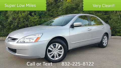 2005 Honda Accord for sale at Houston Auto Preowned in Houston TX