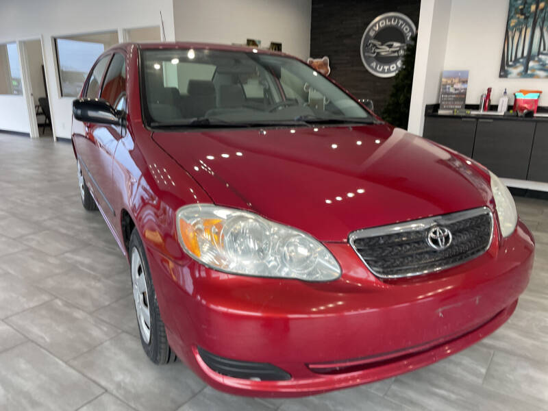 2006 Toyota Corolla for sale at Evolution Autos in Whiteland IN