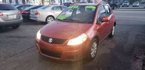 2011 Suzuki SX4 Crossover for sale at TC Auto Repair and Sales Inc in Abington MA