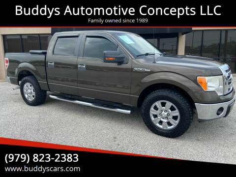 2009 Ford F-150 for sale at Buddys Automotive Concepts LLC in Bryan TX