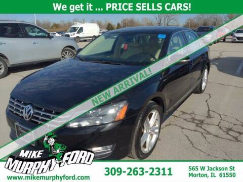 2014 Volkswagen Passat for sale at Mike Murphy Ford in Morton IL