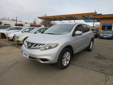 2012 Nissan Murano for sale at Nile Auto Sales in Denver CO