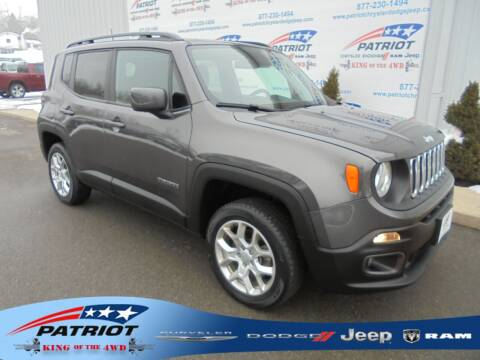 2018 Jeep Renegade for sale at PATRIOT CHRYSLER DODGE JEEP RAM in Oakland MD