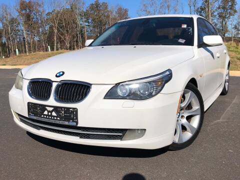2008 BMW 5 Series for sale at El Camino Auto Sales in Sugar Hill GA