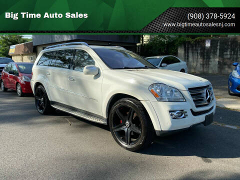 2009 Mercedes-Benz GL-Class for sale at Big Time Auto Sales in Vauxhall NJ
