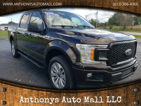 2018 Ford F-150 for sale at Anthonys Auto Mall LLC in New Salisbury IN
