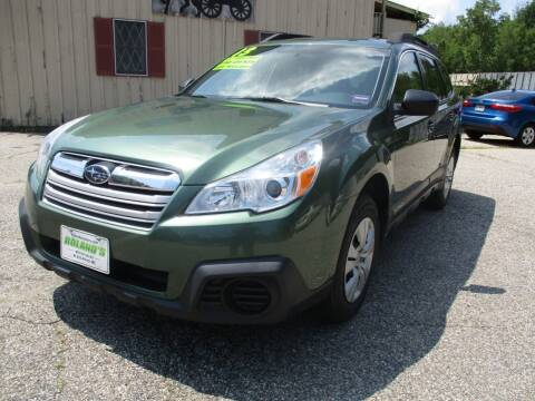 2013 Subaru Outback for sale at Roland's Motor Sales in Alfred ME