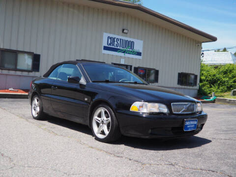 2002 Volvo C70 for sale at Crestwood Auto Sales in Swansea MA