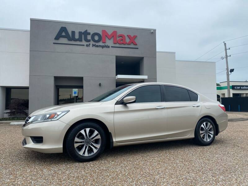 2013 Honda Accord for sale at AutoMax of Memphis - Alex Vivas in Memphis TN