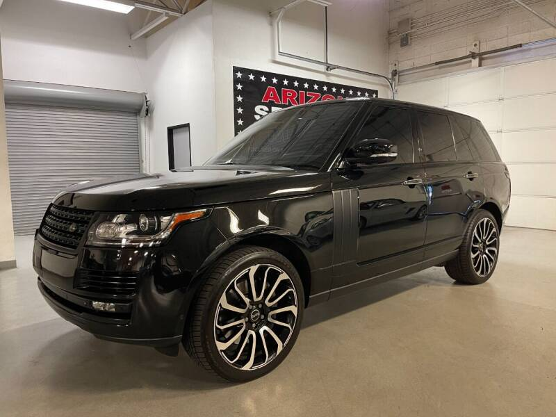 2014 Land Rover Range Rover for sale at Arizona Specialty Motors in Tempe AZ