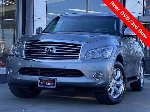 2014 Infiniti QX80 for sale at Carmel Motors in Indianapolis IN