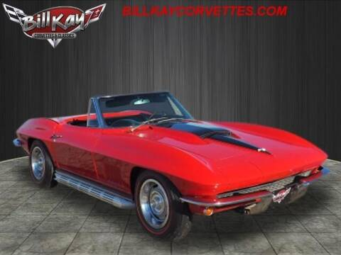 1967 Chevrolet Corvette for sale at Bill Kay Corvette's and Classic's in Downers Grove IL