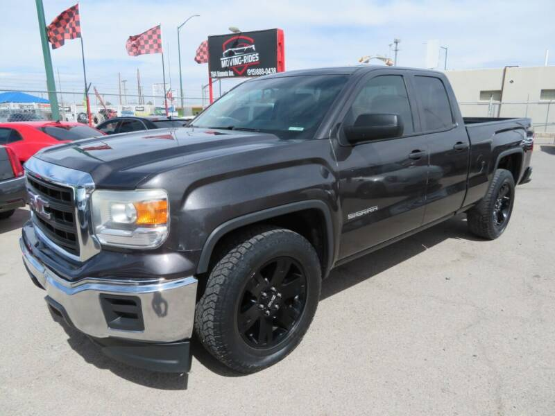 2014 GMC Sierra 1500 for sale at Moving Rides in El Paso TX