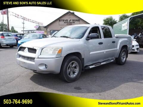 2006 Mitsubishi Raider for sale at Steve & Sons Auto Sales in Happy Valley OR