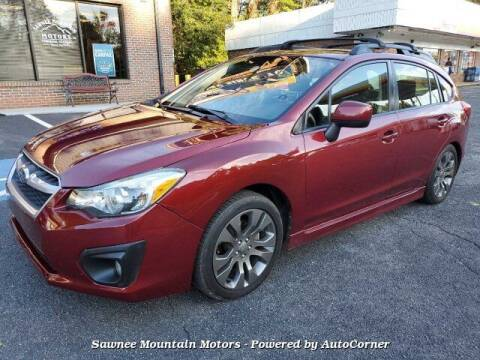 2014 Subaru Impreza for sale at Michael D Stout in Cumming GA