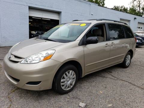 2006 Toyota Sienna for sale at Devaney Auto Sales & Service in East Providence RI