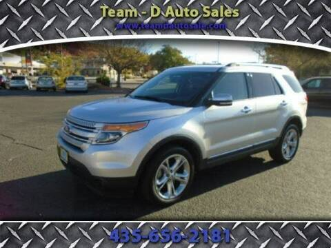 2015 Ford Explorer for sale at Team D Auto Sales in St George UT