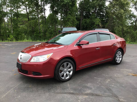 2011 Buick LaCrosse for sale at AFFORDABLE AUTO SVC & SALES in Bath NY