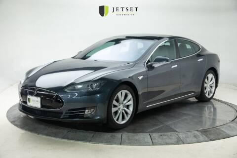 2015 Tesla Model S for sale at Jetset Automotive - Electric Cars in Cedar Rapids IA