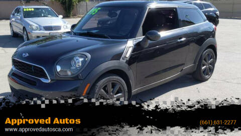 2014 MINI Paceman for sale at Approved Autos in Bakersfield CA