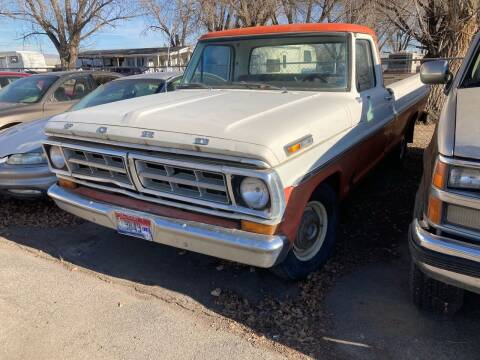 1971 Ford F-100 for sale at AFFORDABLY PRICED CARS LLC in Mountain Home ID