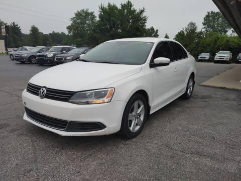 2013 Volkswagen Jetta for sale at Cruisin' Auto Sales in Madison IN