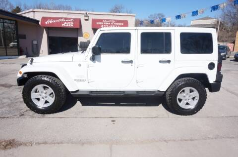2012 Jeep Wrangler Unlimited for sale at patrick kelley in Bonner Springs KS