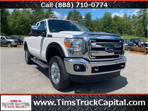 2013 Ford F-250 Super Duty for sale at TTC AUTO OUTLET/TIM'S TRUCK CAPITAL & AUTO SALES INC ANNEX in Epsom NH