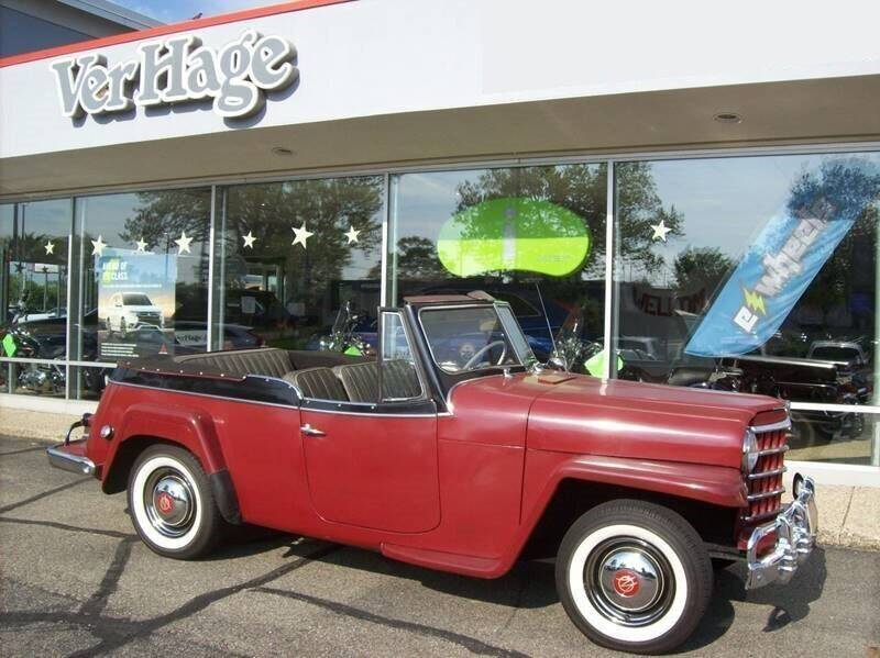 1951 Willys Jeepster for sale in Holland, MI