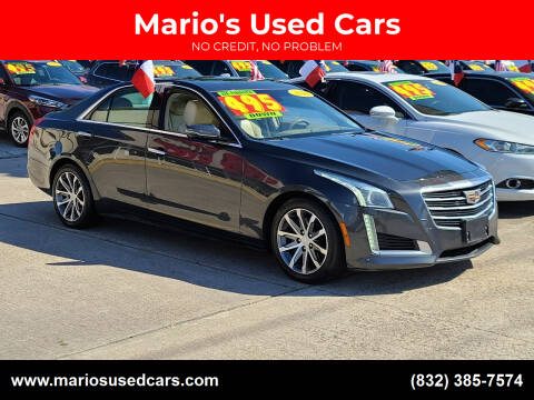 2016 Cadillac CTS for sale at Mario's Used Cars in Houston TX