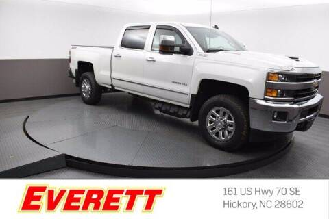 2018 Chevrolet Silverado 3500HD for sale at Everett Chevrolet Buick GMC in Hickory NC