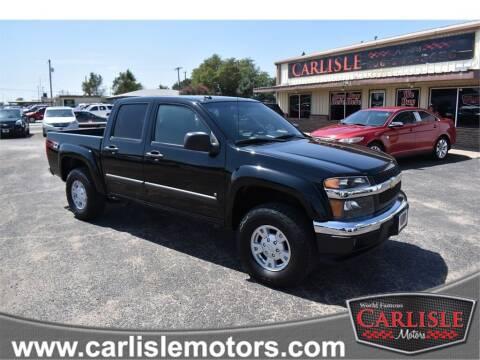 2008 Chevrolet Colorado for sale at Carlisle Motors in Lubbock TX