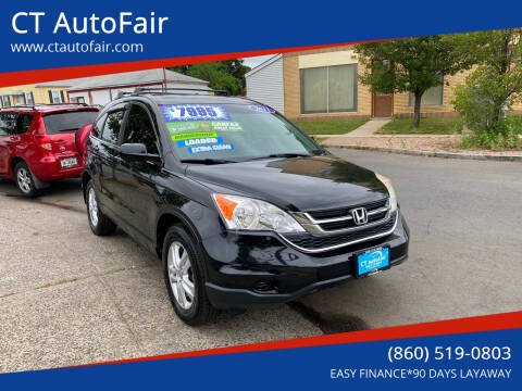 2011 Honda CR-V for sale at CT AutoFair in West Hartford CT