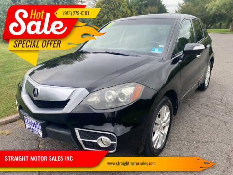 2011 Acura RDX for sale at STRAIGHT MOTOR SALES INC in Paterson NJ
