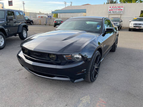 2010 Ford Mustang for sale at Adams Auto Sales in Sacramento CA