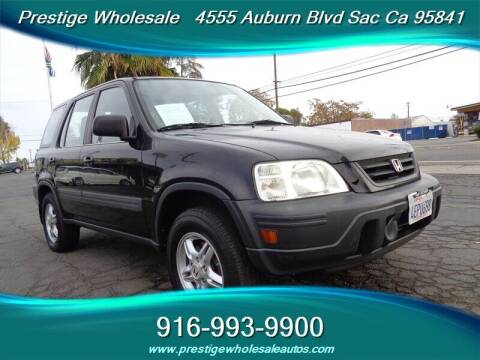 1999 Honda CR-V for sale at Prestige Wholesale in Sacramento CA