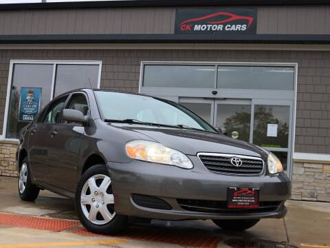 2007 Toyota Corolla for sale at CK MOTOR CARS in Elgin IL