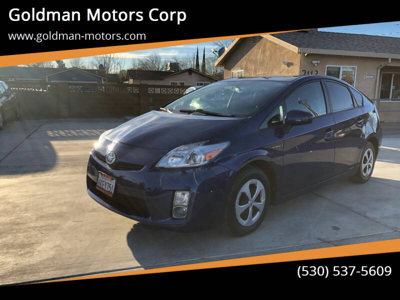 2010 Toyota Prius for sale at Goldman Motors Corp in Stockton CA